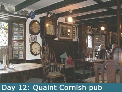 An Olde Worlde Pub in Cornwall