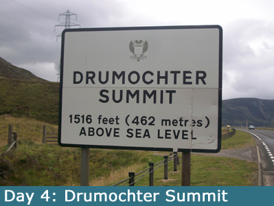 The famous Drumochter Summit
