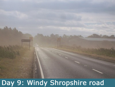 Windswept Shropshire Roads