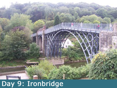 Ironbridge, the oldest iron bridge in the world